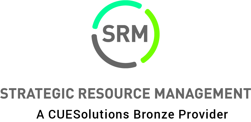 updated SRM logo with tagline