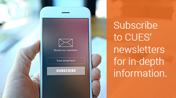 Subscribe to CUES eNewsletters