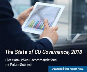 The State of CU Governance Cover