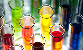 colorful liquid in test tubes